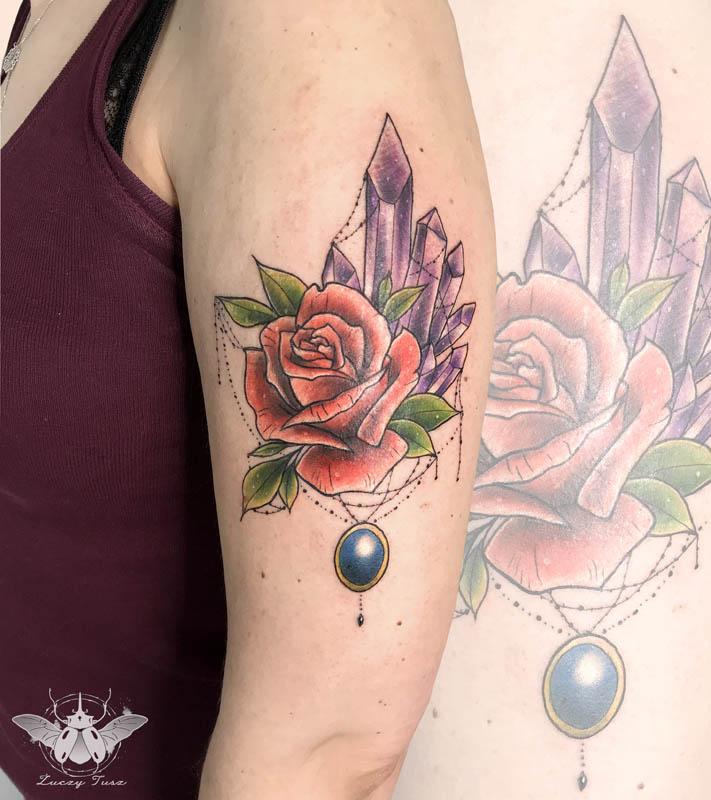 Żuczy Tusz tattoo tatuaż watercolor blackwork sketch neotraditional CHEZ Laserowe usuwanie tatuażu Laserowe usuwanie tatuaży Gdynia Trójmiasto Studio Tatuażu